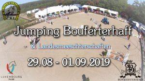 Landesmeisterschaften Springen 2019 @ Bouferterhaff