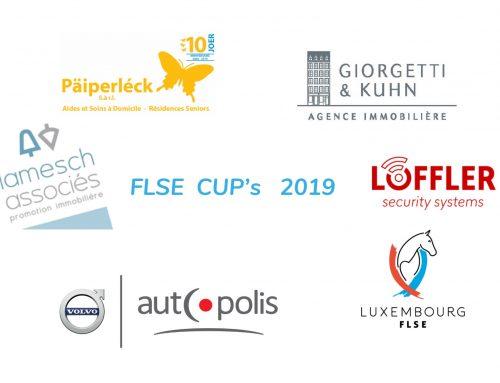 Zwischenstände FLSE Cup's Springen und Dressur 2019