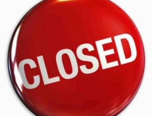 Büro geschlossen am 14.05.2021