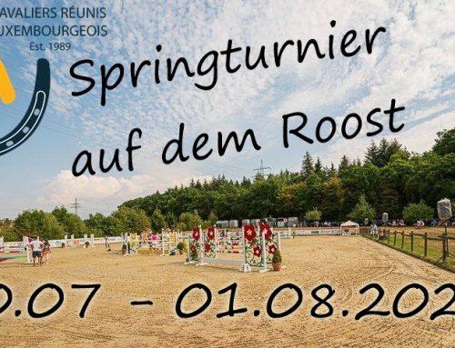 Neue Ausschreibung Roost 30.07-01.08.2021